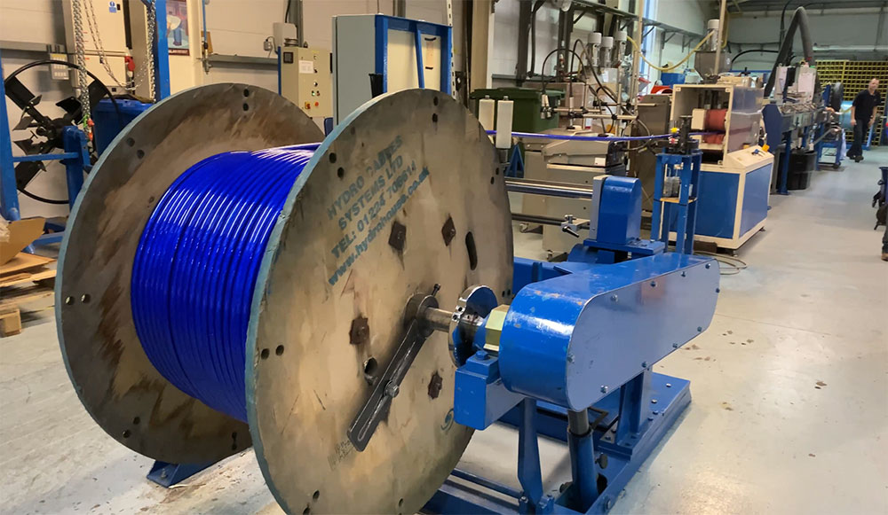 Manufacture and spooling
