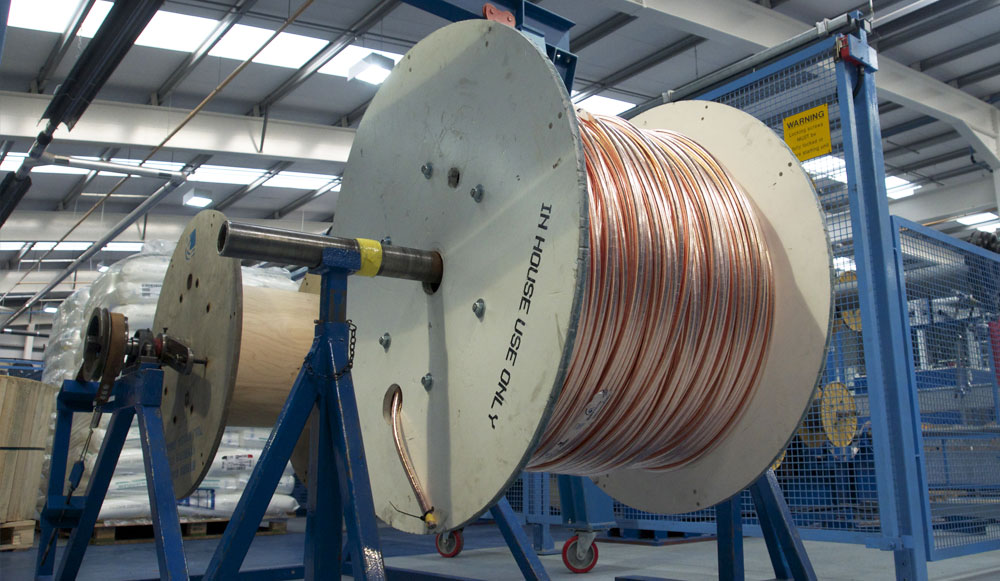 cable spooling