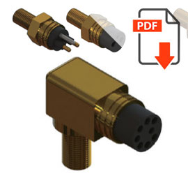 HRM: (Rubber Moulded) range of Connectors